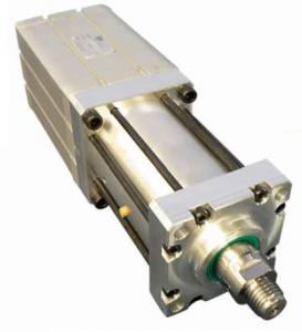 Hydropneumatic power cylinder, double action