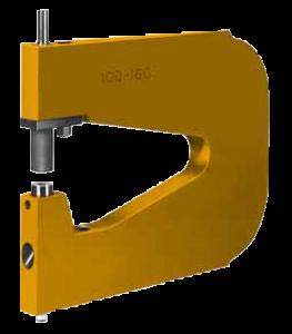 Punching unit hole 2–7 mm