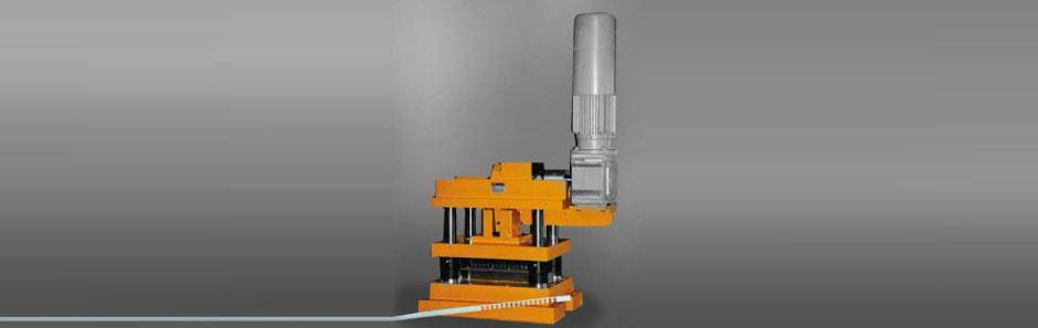 Electrically operated punching press